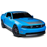 Silver RTR Style Graphics Package (10-12 All) - American Muscle Graphics 26276