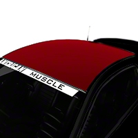 Red Boss Style Roof Decal (05-14 All) - American Muscle Graphics 26282