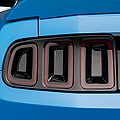 Smoked Tail Light Tint Insert (13-14 All) - AmericanMuscle Graphics 26295