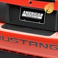 Matte Black Rear Bumper Accent (99-04 All) - American Muscle Graphics 26300
