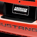 Gloss Black Rear Bumper Accent (99-04 All) - AmericanMuscle Graphics 26301
