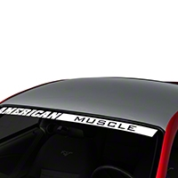 Silver Boss Style Roof Decal (94-04 All) - AmericanMuscle Graphics 26306