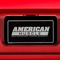 License Plate Insert - Black (05-09 All) - AmericanMuscle Graphics 26313
