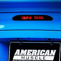 SN-95 Third Brake Light Decal (94-98 All) - AmericanMuscle Graphics 26319