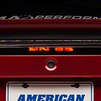 SN-95 Third Brake Light Decal (99-04 All; Excludes 03-04 Cobra) - AmericanMuscle Graphics 26320
