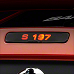 S-197 Third Brake Light Decal (05-09 All) - AmericanMuscle Graphics 26321