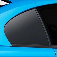 Matte Black Quarter Window Blackout (94-98 All) - AmericanMuscle Graphics 26322