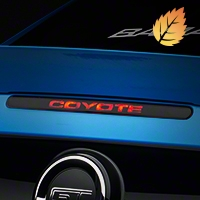 Coyote Third Brake Light Decal (11-14 All) - American Muscle Graphics 26337