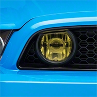 Yellow Fog Light Tint (13-14 GT) - American Muscle Graphics 26338