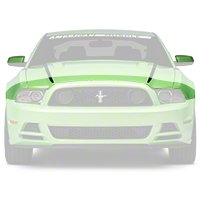 3M Paint Protection Film - Hood & Mirror (13-14 All) - AmericanMuscle Graphics 26350
