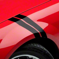 Black Hash Marks (05-14 All) - American Muscle Graphics 26158