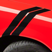 Black Hash Marks (79-93 All) - AmericanMuscle Graphics 26158