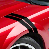 Black Hash Marks (94-04 All) - AmericanMuscle Graphics 26158