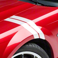 White Hash Marks (94-04 All) - AmericanMuscle Graphics 26159