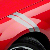 Silver Hash Marks (05-14 All) - AmericanMuscle Graphics 26160