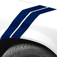 Blue Hash Marks (79-93 All) - AmericanMuscle Graphics 26238