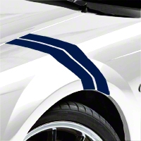 Blue Hash Marks (94-04 All) - AmericanMuscle Graphics 26238