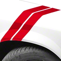 Red Hash Marks (79-93 All) - AmericanMuscle Graphics 26239