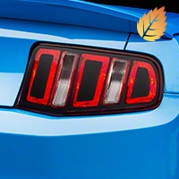 Tail Light Conversion Decal Kit - Matte Black (10-12) - American Muscle Graphics 26363