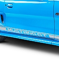 Silver Rocker Stripes w/ Mustang GT Lettering (94-04 All)