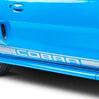 Silver Rocker Stripes w/ Cobra Lettering (94-04)