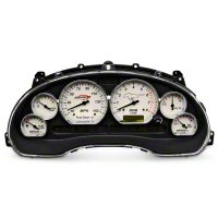 Simco Classic Series Gauge Cluster - Chrome (99-04 GT) - Simco 2024-707