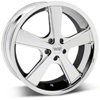 Chrome American Racing Nova Wheel - 18x9 (05-14 GT, V6) - American Racing KM70189012235||27208