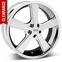 Nova Chrome Wheel - 18x9 (94-04 All) - American Racing 27210||VN70189012224