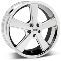 Chrome American Racing Nova Wheel - 20x10 (05-14 GT, V6) - American Racing VN70121012235
