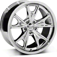 Chrome American Racing Daytona Wheel - 18x9 (94-04 All) - American Racing VN801 18x9 +24