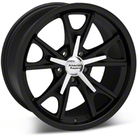Matte Black American Racing Daytona Wheel 18x9 (94-04 All) - American Racing VN80189012724