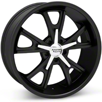 Matte Black American Racing Daytona Wheel - 20x8.5 (05-14 GT, V6) - American Racing VN80128512730