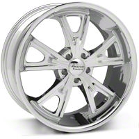Daytona Chrome Wheel - 20x9.5 (05-14 GT, V6) - American Racing VN801 20x9.5 +35