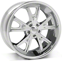 Chrome American Racing Daytona Wheel - 20x9.5 (05-14 GT, V6) - American Racing VN801 20x9.5 +35