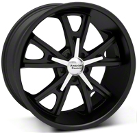 American Racing Matte Black Daytona Wheel - 20x9.5 (05-14 GT, V6) - American Racing VN80129512735