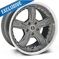 Shelby Razor Gunmetal Wheel - 18x10 (05-14 GT, V6) - Shelby SB198S8167