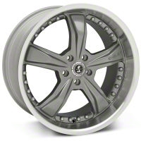 Shelby Razor Gunmetal Wheel - 20x10 (2015 All) - Shelby 27225G15
