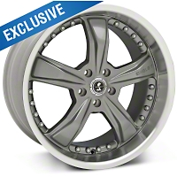 Shelby Razor Gunmetal Wheel - 20x10 (05-14 GT, V6) - Shelby SB198S2167