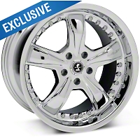 Chrome Shelby Razor Wheel 18x10 (94-04 All) - Shelby SB698S8166