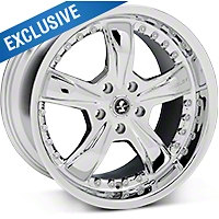 Chrome Shelby Razor Wheel - 18x10 (05-14 GT, V6) - Shelby SB698S8167