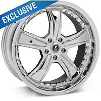 Shelby Razor Chrome Wheel - 20x9 (05-14 All) - Shelby SB698S2966A||SB698S2967