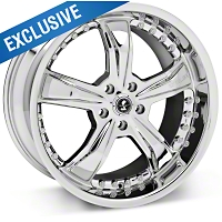 Chrome Shelby Razor Wheel - 20x10 (05-14 GT, V6) - Shelby SB698S2167