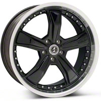 Shelby Razor Black Wheel - 20x9 (05-14 GT, V6) - Shelby SB198B2966