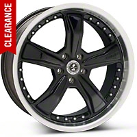 Shelby Razor Black Wheel - 20x9 (05-14 All) - Shelby SB198B2966