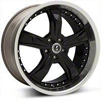 Shelby Razor Black Wheel - 20x10 (05-14) - Shelby SB198B2167