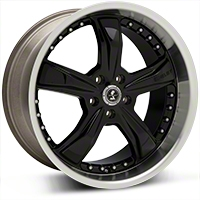 Black Shelby Razor Wheel - 20x10 (05-14 GT, V6) - Shelby SB198B2167
