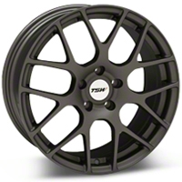 TSW Nurburgring Matte Gunmetal Wheel - 18x8 (94-04 All) - TSW 1880NUR355114G76||27350