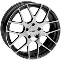 Gunmetal TSW Nurburgring Wheel - 18x8 (94-04 All) - TSW 1880NUR355114S76||27351
