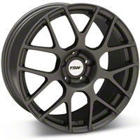 Matte Gunmetal TSW Nurburgring Wheel - 18x9 (94-04 All) - TSW 1890NUR325114G76||27352