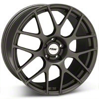 TSW Nurburgring Matte Gunmetal Wheel - 19x9.5 (05-14 All) - TSW 1995NUR415114G76